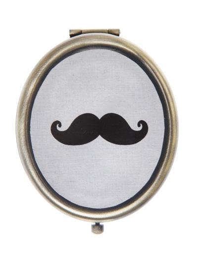 """Compact mirror """"Moustache"""""""