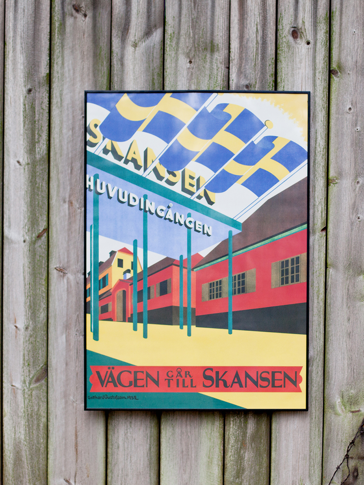 Design poster 70x100 -  70x100 Cm Poster Come To Sweden Schweden