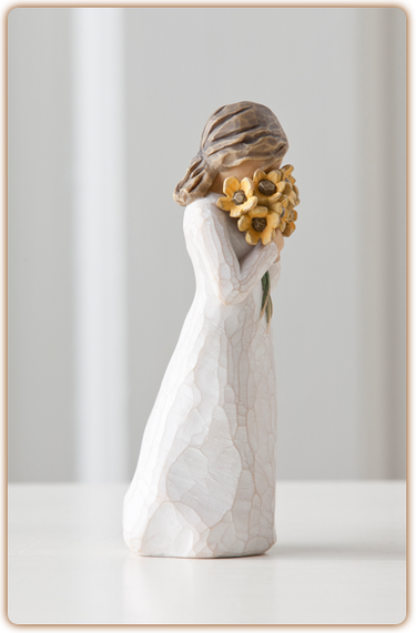 "Figurine Willow Tree ""Warm embrace"""
