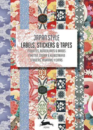 "Stickerbok  ""Japan Style, Labels, Stickers & Tapes"""