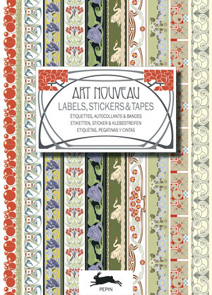 "Stickerbok  ""Art Nouveau, Labels Sticker & Tapes"""