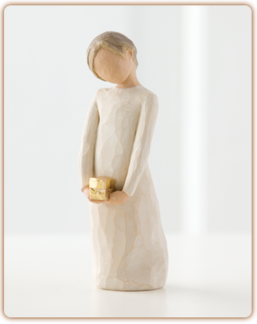 "Figurine Willow Tree ""Spirit of Giving"""