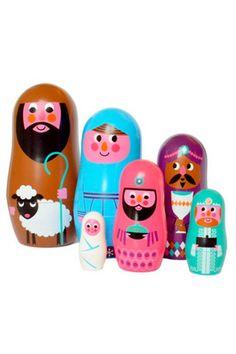 Matryoshka big, Nativity