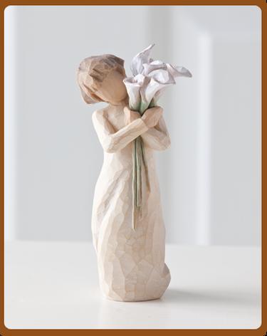 "Figurine Willow Tree ""Beautiful Wishes"""
