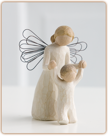 "Figurine Willow Tree ""Guardian Angel"""
