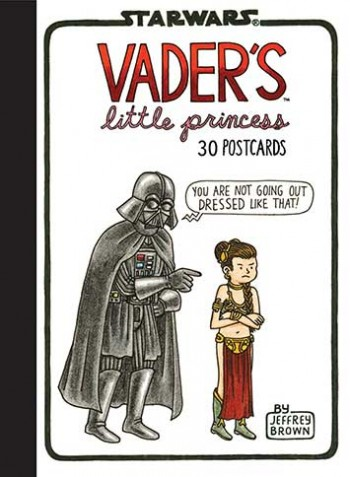 Bok/vykort Vader's Little Princess