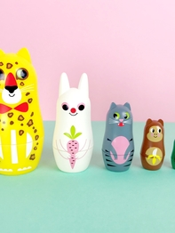 Matryoshka Animals 3