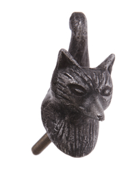 Drawer Knob Fox, black