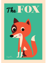"Affisch Ingela P Arrhenius ""The Fox"" 50x70 cm"