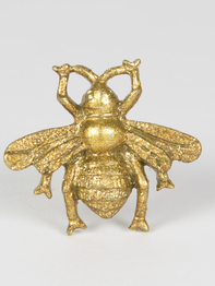 Drawer Knob Bee, Gold