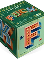 Four letter word puzzle, Fuck