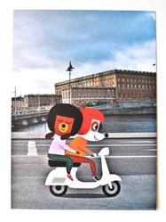 "Miniprints/vykort Ingela P Arrhenius ""Stockholm"" 7st"