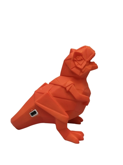 Dinosaur USB Lamp, Orange