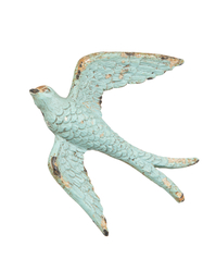 Drawer Knob Swallow, Turquoise