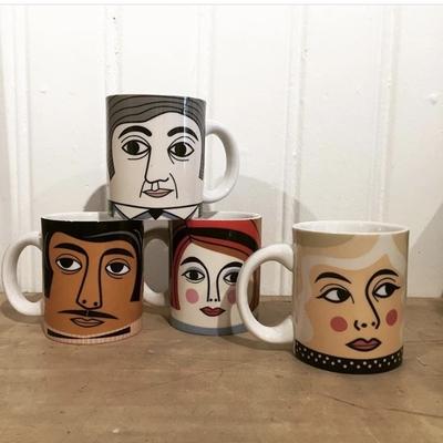 Mug Porcelain Ingela P Arrhenius, Mr Krauss
