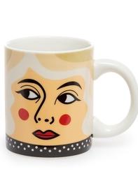 Mug Porcelain Ingela P Arrhenius, Mrs Barrett