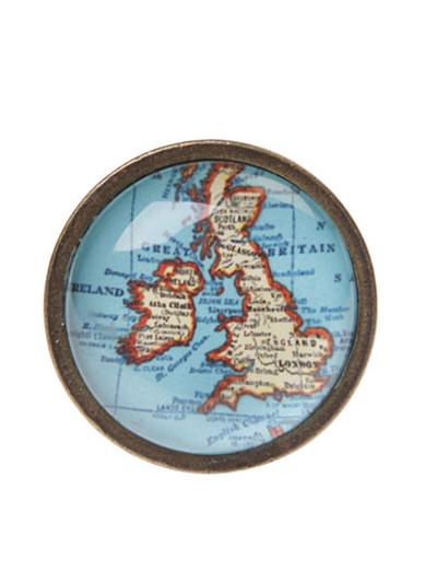 Dörrknopp Vintage map