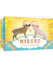 Pop-up kort Kisses 10 st