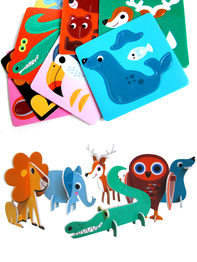 "Puzzle 3D Ingela P Arrhenius ""Animal parade"""