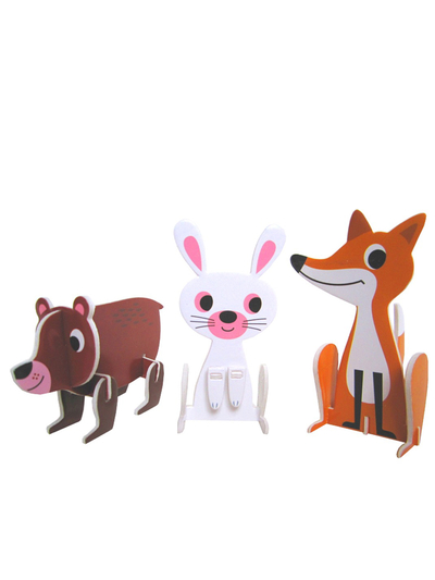 "Pussel 3D Ingela P Arrhenius ""Animal parade"""