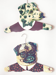 "Clothes hanger ""Dog Dress Up"""