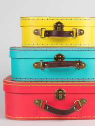 "Suitcase small ""Retro"" 3 pcs"