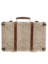 "Suitcase small vintage ""Floral"""