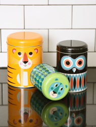 "Jar Set 3 pcs Ingela P Arrhenius ""Animal"""