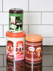 "Jar Set 3 pcs Ingela P Arrhenius ""Baka"""