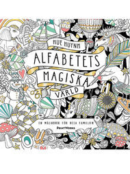 """Colouring book """"Alfabetets magisk värld"""""""