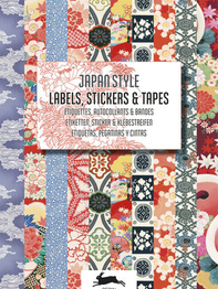"Stickerbook ""Japan Style, Labels, Stickers & Tapes"""