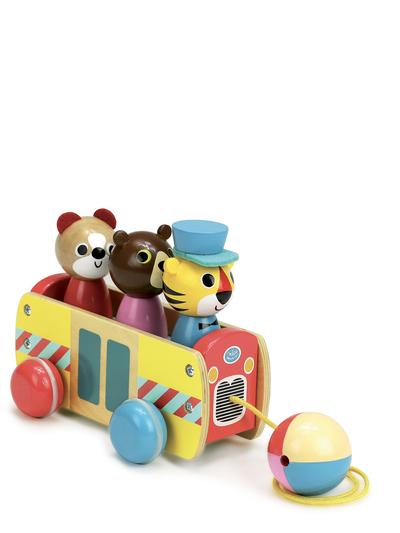 Pull toy 'Bus' Ingela P. Arrhenius