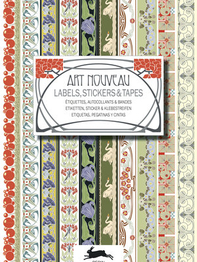 "Stickerbook ""Art Nouveau, Labels Sticker & Tapes"""