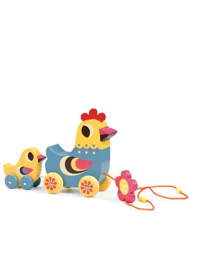 Pull toy 'Hen & chick' Ingela P. Arrhenius
