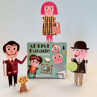 """Pussel 3D Ingela P Arrhenius """"Artist parade"""""""
