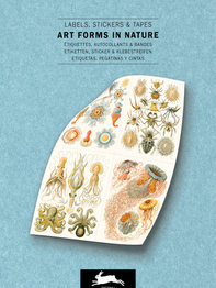 """Stickerbook """"Art Forms in Nature, Labels Sticker & Tapes"""""""