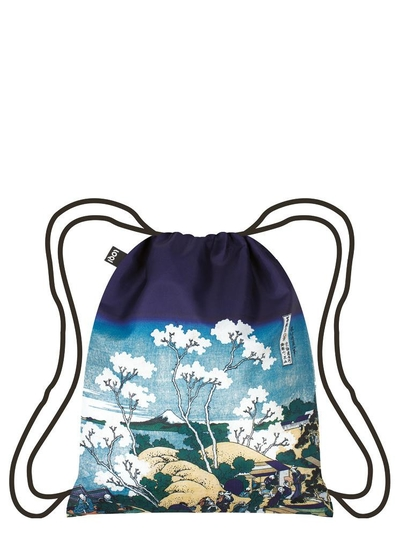 Backpack, Loqi HOKUSAI Fuji from Gotenyama