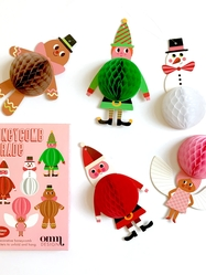 Honeycomb Parade, Christmas,Ingela P Arrhenius
