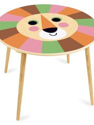 """Barnbord av Ingel P. Arrhenius """"Lejon"""""""