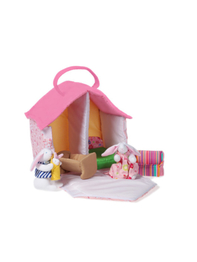 Doll house with Bunnies