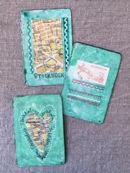 """Magnet """"Stockholm Grön"""" av Annu"""