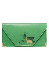 "Travel wallet/Clutch Heritage and Harlequin ""Deer"""
