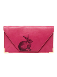 "Travel wallet/Clutch Heritage and Harlequin ""Rabbit"""