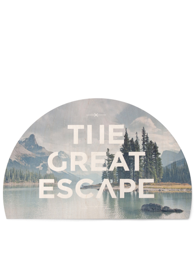 Print on plywood Faunascapes - The Great Escape