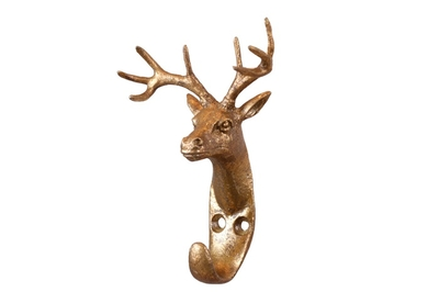 Deer hook, gold