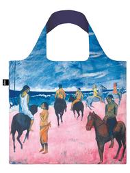 "Shoppingbag, Loqi ""PAUL GAUGUIN Horseman on the Beach, 1902"""