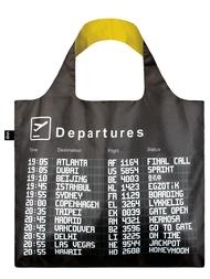 """Shoppingväska, Loqi """"Airport Arrivals"""""""