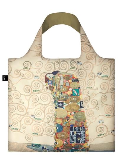 """Shoppingbag, Loqi """"GUSTAV KLIMT The Fulfilment"""""""