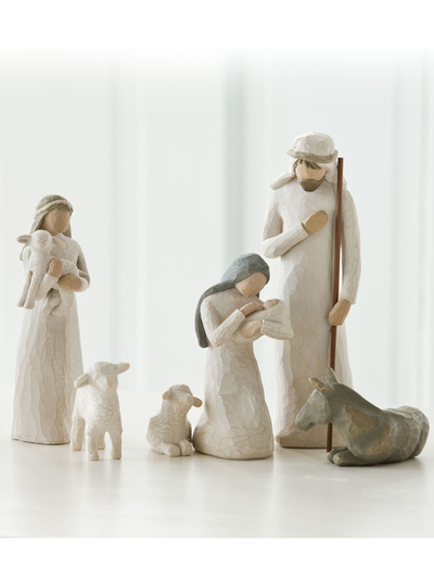"Staty Willow Tree ""Nativity"" 6 figurer"