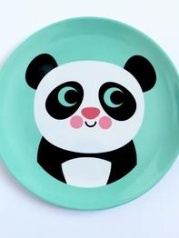 "Plate Ingela P Arrhenius ""Panda"""